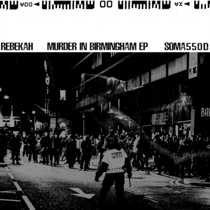 Murder In Birmingham EP cover
